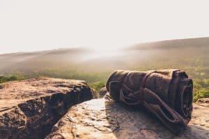 blanket outdoors
