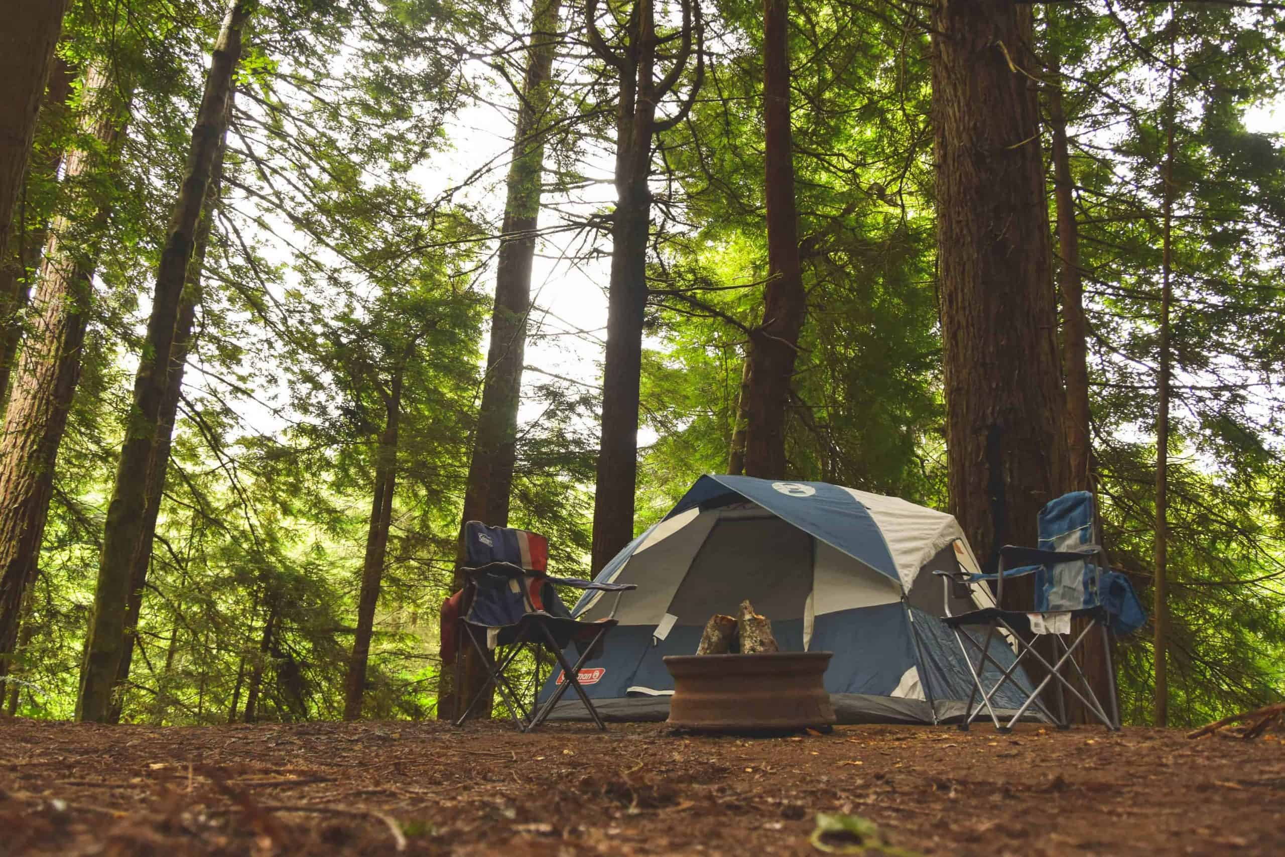 camping in redwood national park