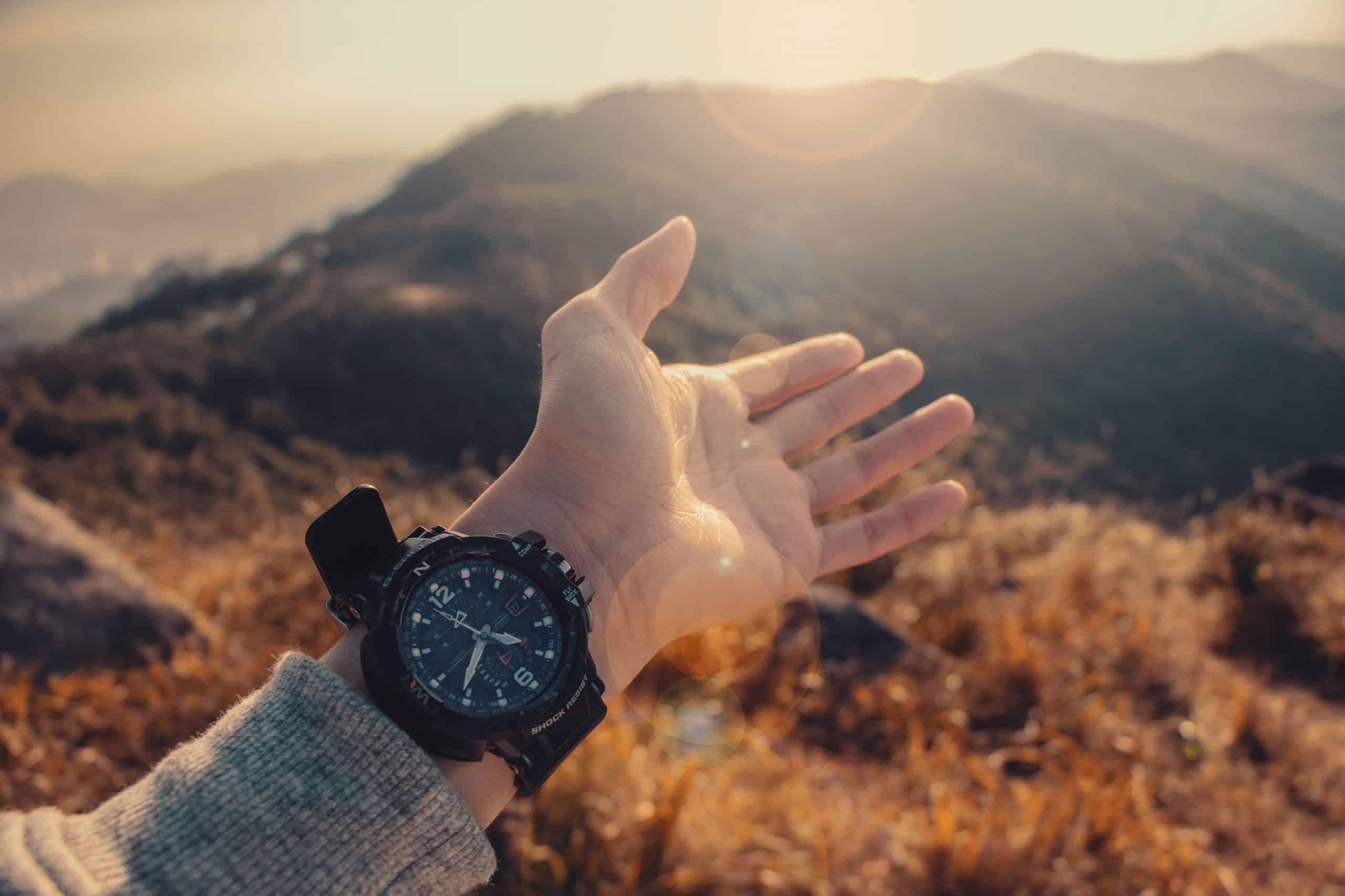 hiking watch