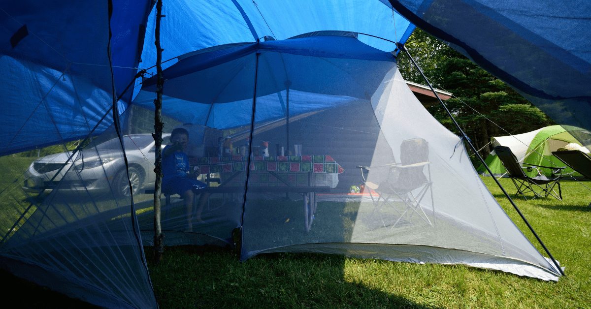screen house for camping