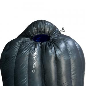 Summit sleeping bag closed
