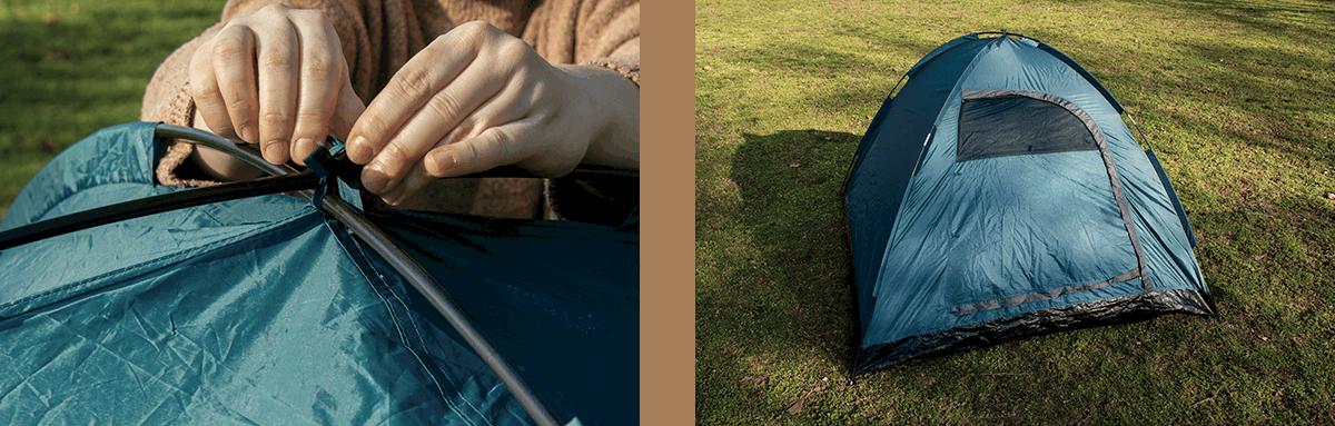 raising the tent pt 2