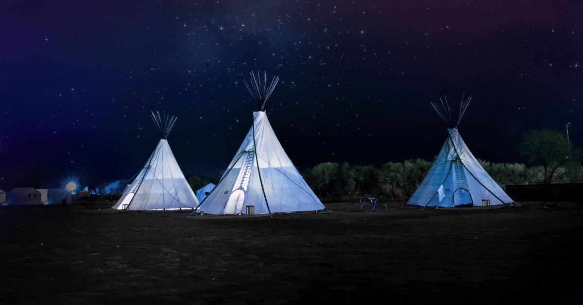 teepee tents