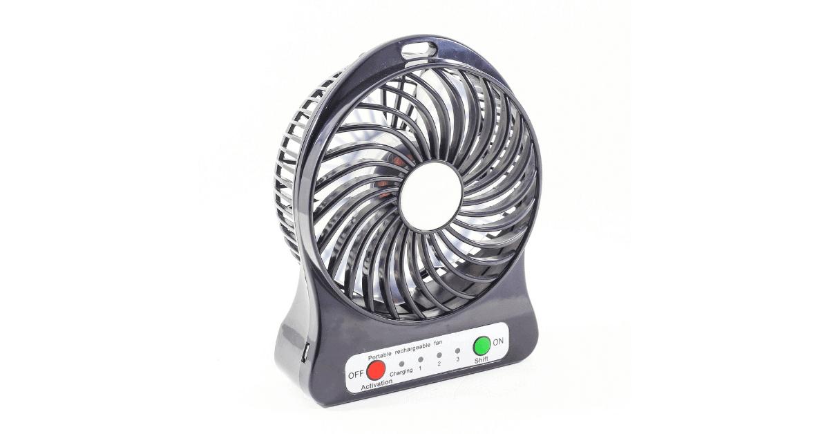 a portable fan