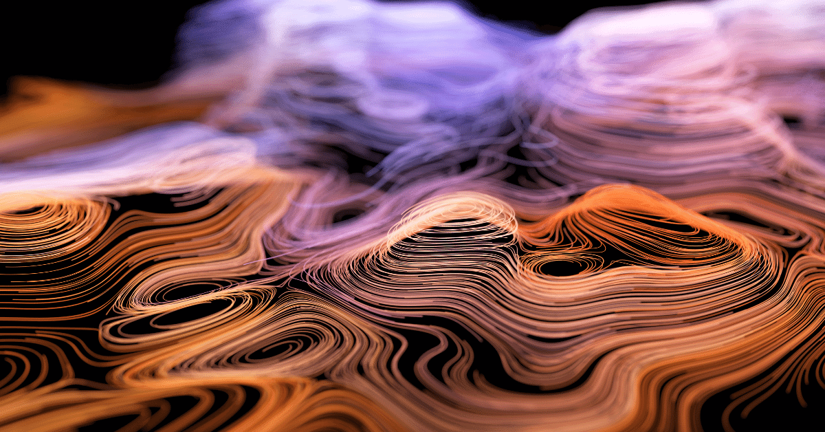topographic map in 3d